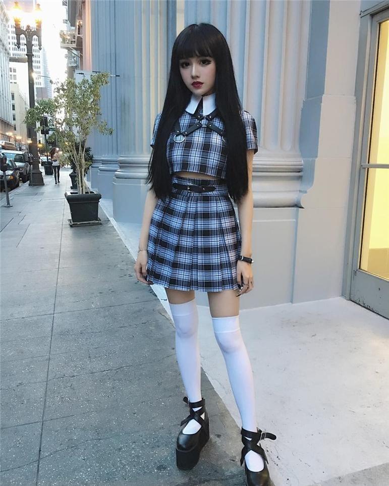 Fashion Casual Skirt High Waist