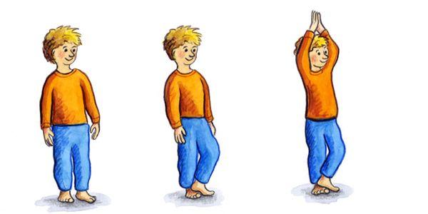 yoga bungsbeispiele f r die bewegungsf rderung im kindergarten ukbw kinderg rten in aktion. Black Bedroom Furniture Sets. Home Design Ideas
