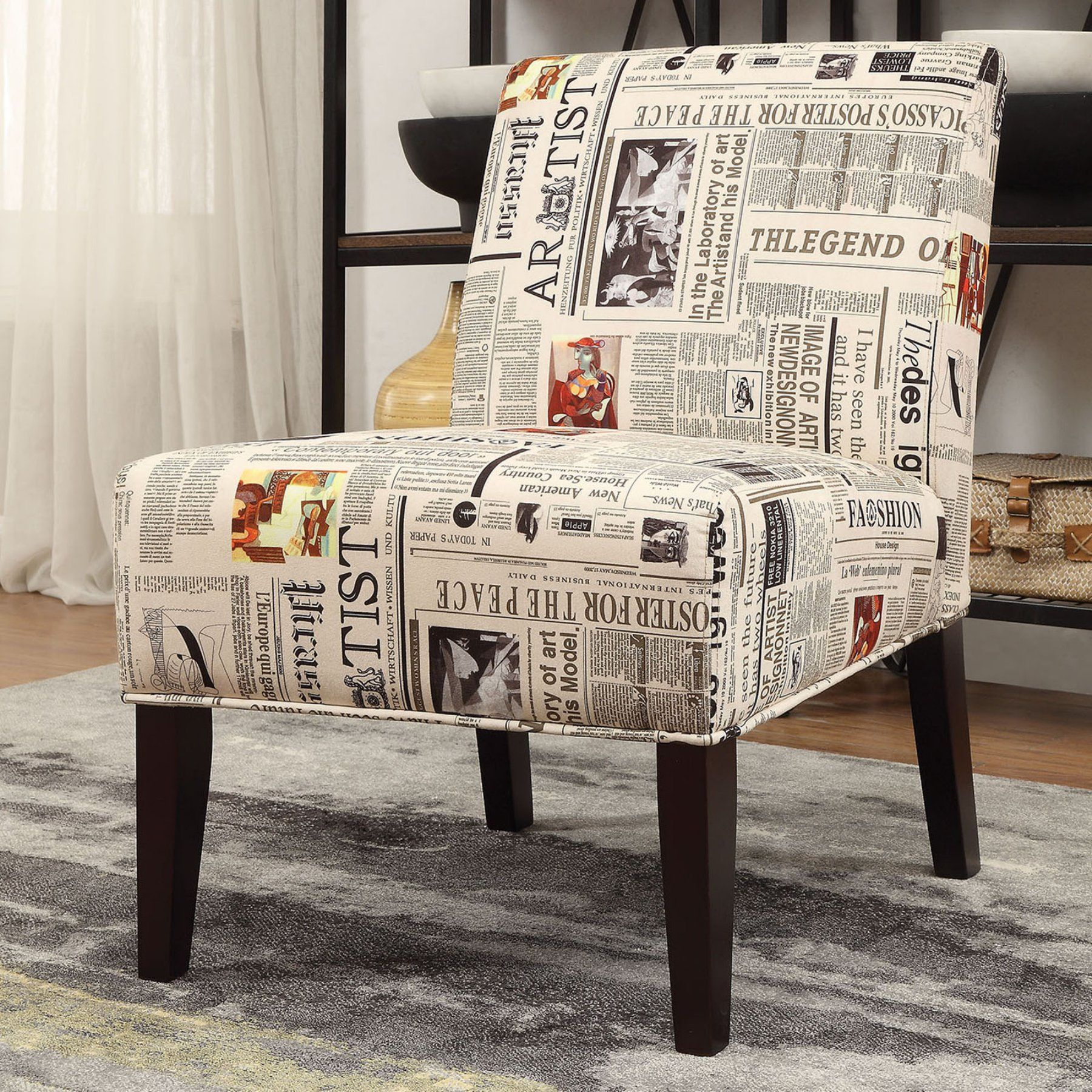 Accent Rex Meubles Acme Furniture Aberly Accent Chair Daily News Pattern Products