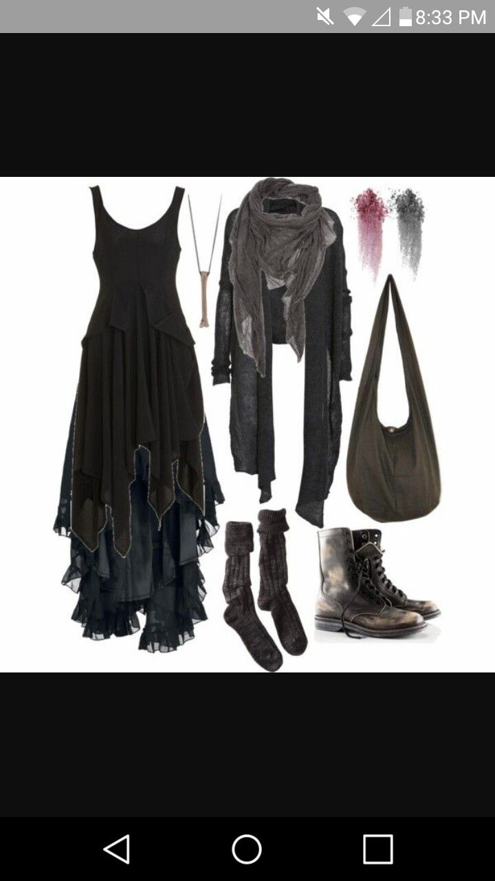 4a62e9c950f29 Cute witch outfit i absolutely adore. | Witchy clothing | Fashion ...