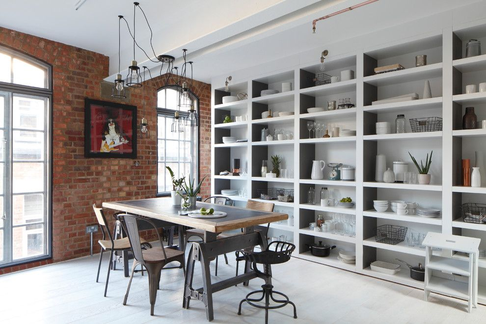 superb-cube-shelving-unit-in-dining-room-industrial-with