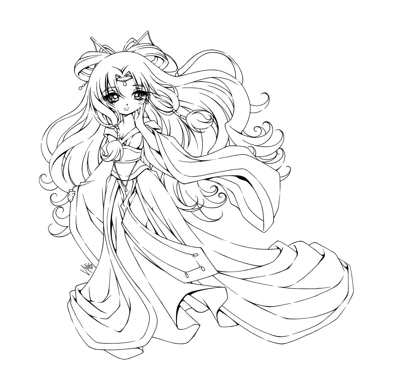 Li Dong Hua By Sureya On Deviantart Chibi Coloring Pages