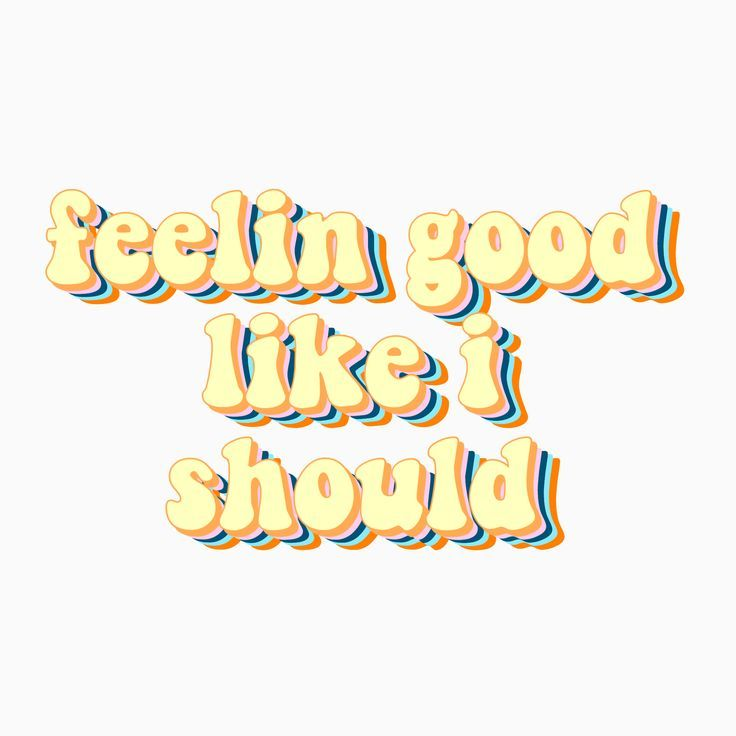 'Feelin Good Like I Should song lyrics Surfaces' Sticker by sammiefarrall
