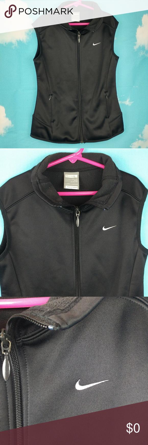 b18b379c26 Nike Youth Therma-Fit Fleece Vest Girls Boys 14 Nike Therma-Fit Fleece Full