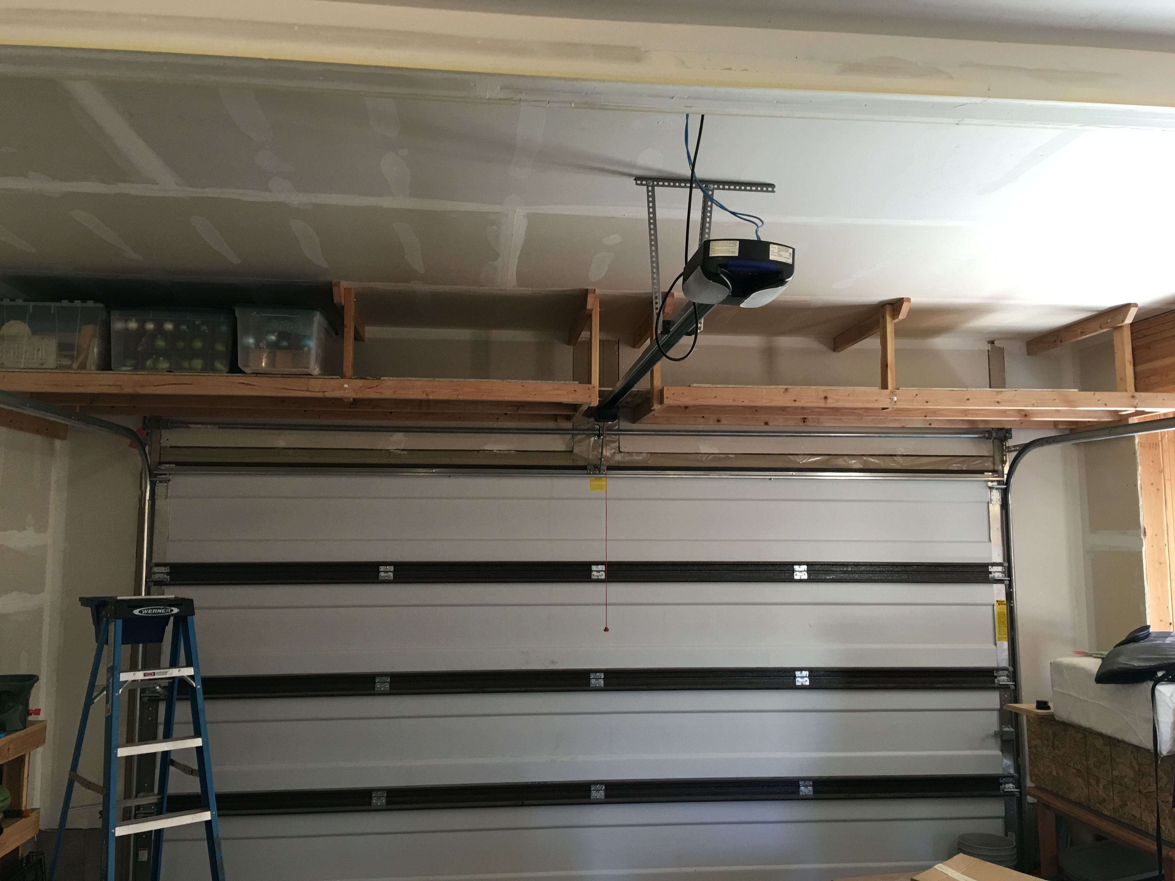 2 x 4 overhead garage storage (QuickCrafter) Overhead