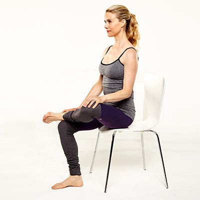 5 yoga poses you can do at your desk  easy yoga poses