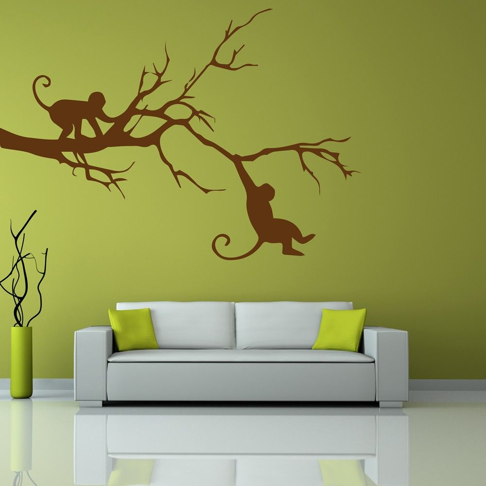 Brighten up any wall in your home with an easy to apply wall sticker ...