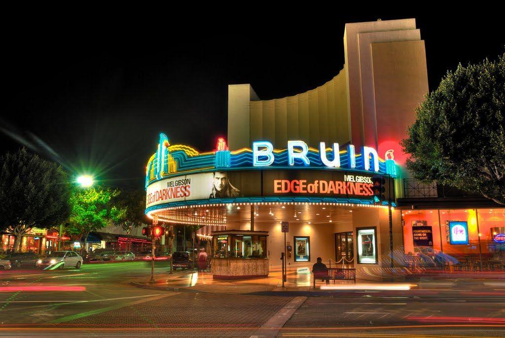 Bruin Theater Los Angeles Westwood Village La Attractions West Los Angeles