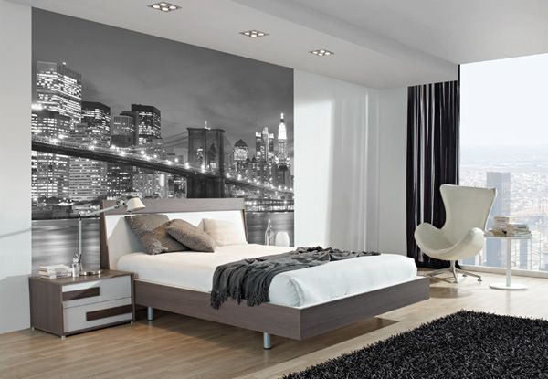 decoracion de dormitorios juveniles con fotomural en cabecero buscar con google