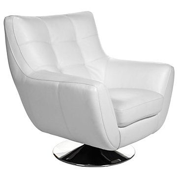 Outstanding Bruno Accent Chair Ottoman White Chairs Living Room Machost Co Dining Chair Design Ideas Machostcouk