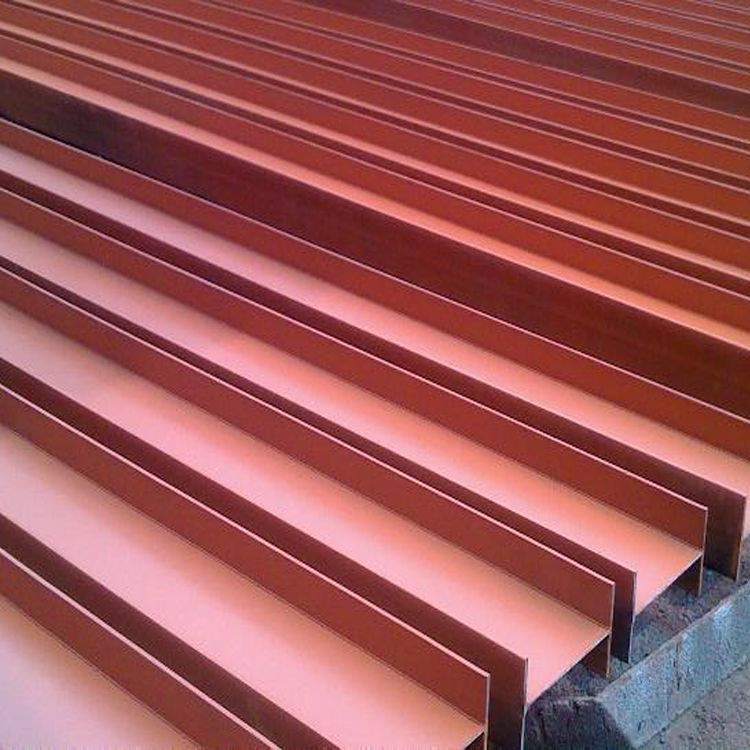 Galvanized or coated Structural steel HR H beam H type