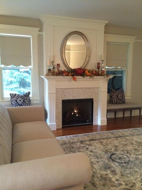 Amityville Flood By Long Island Mantel Living Room New York