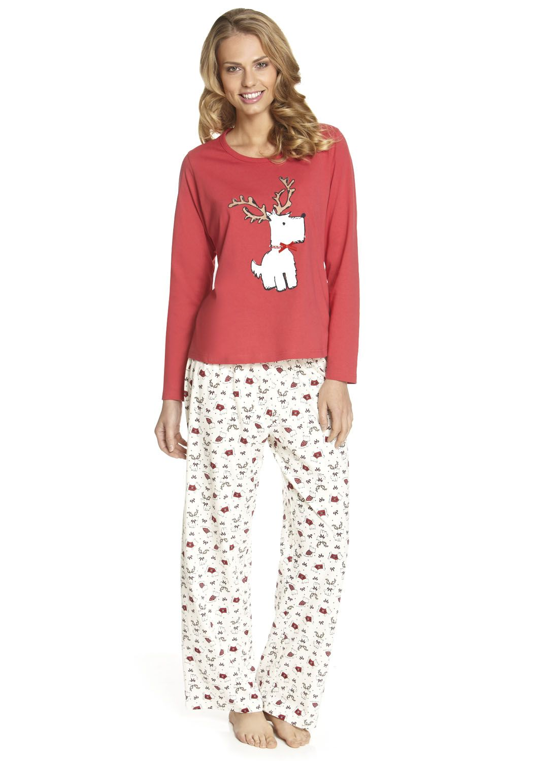 877c4ec310 F Christmas Scottie dog pyjamas | Scottish Terriers Rule My Heart in ...