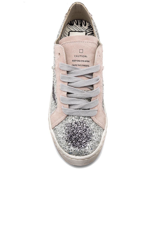 Dolce Vita Z Glitter Sneaker in Silver
