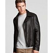 Theory Hershawl L Chevalier Leather Jacket