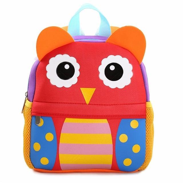 7824da4e00e1 Cartoon Kids Plush Backpacks Baby Toy Schoolbag Student Kindergarten ...