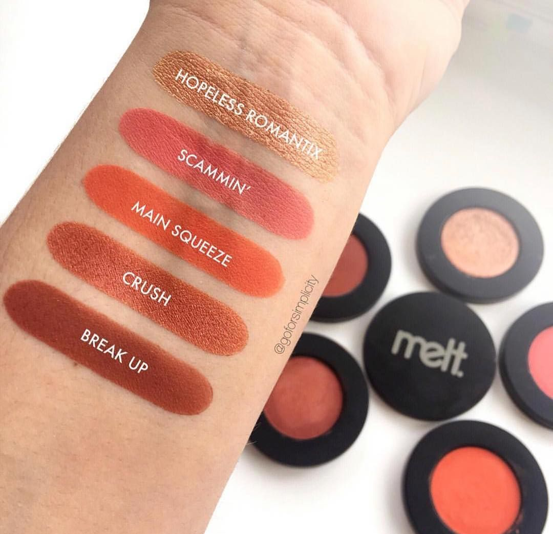 Pressed Pigment by melt #9