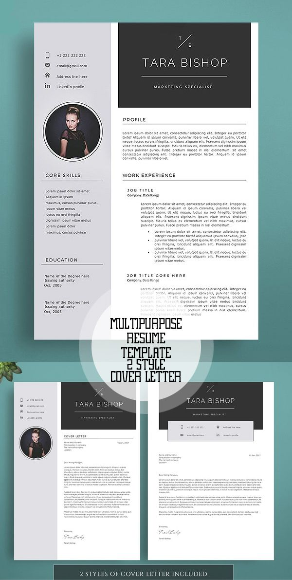 Impressive Resume Template | Misc | Pinterest | Template, Resume ...