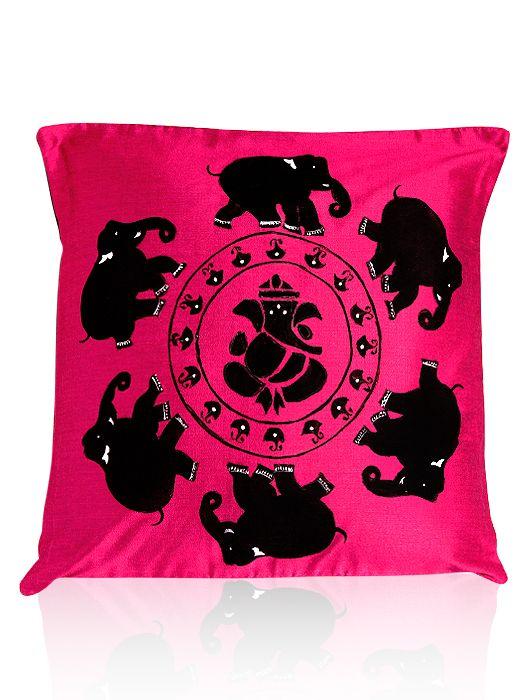 MISH MASH, Ganesha Cushion Cover, $46.53