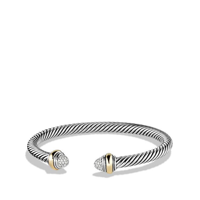 david gold in classics yurman garnet cable bracelet lyst with jewelry metallic