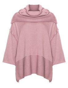 Isolde Roth Weiter Baumwoll Strickpullover In Altrosa Pullover Schone Pullover Plus Size Kleidung