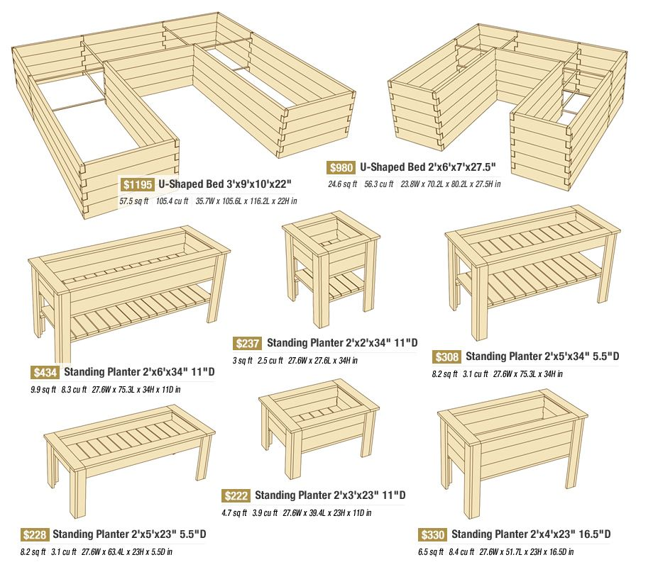 Standing Planters Raised Garden Beds Diy Raised Beds Raised Garden Beds
