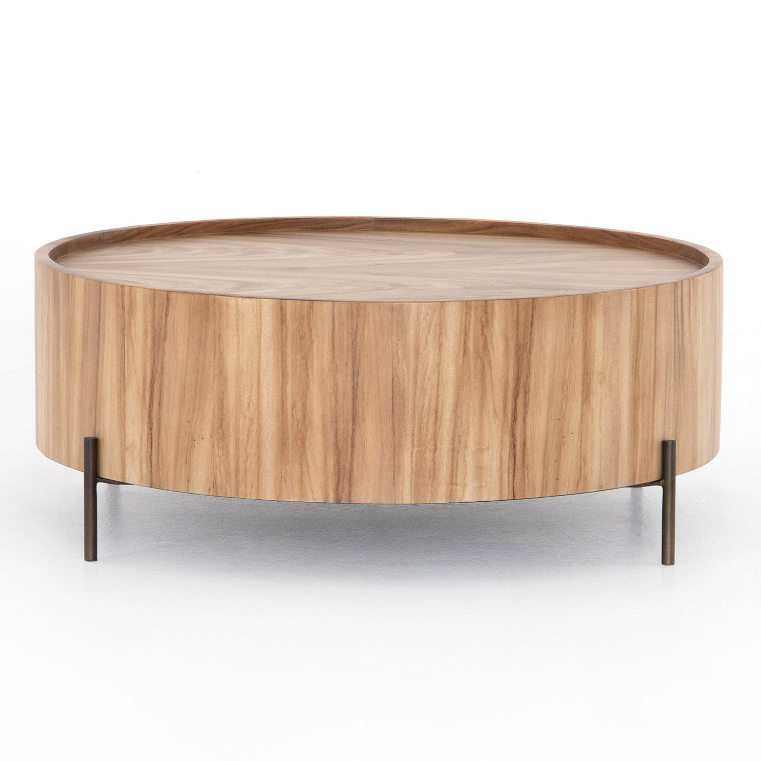 Four Hands Lunas Drum Coffee Table In 2021 Drum Coffee Table Coffee Table Drum Table [ 1500 x 1500 Pixel ]