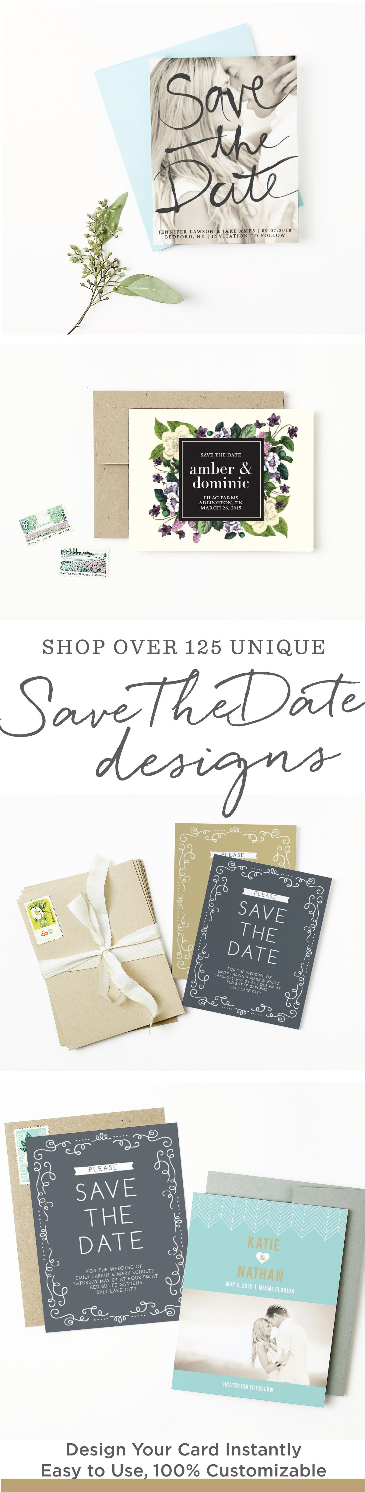 Save The Date Cards | 1000+ Designs at 15% Off