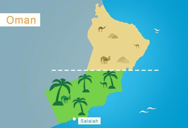 Karte Oman Salalah.Unser Geheimtipp Am Indischen Ozean Salalah Im Oman