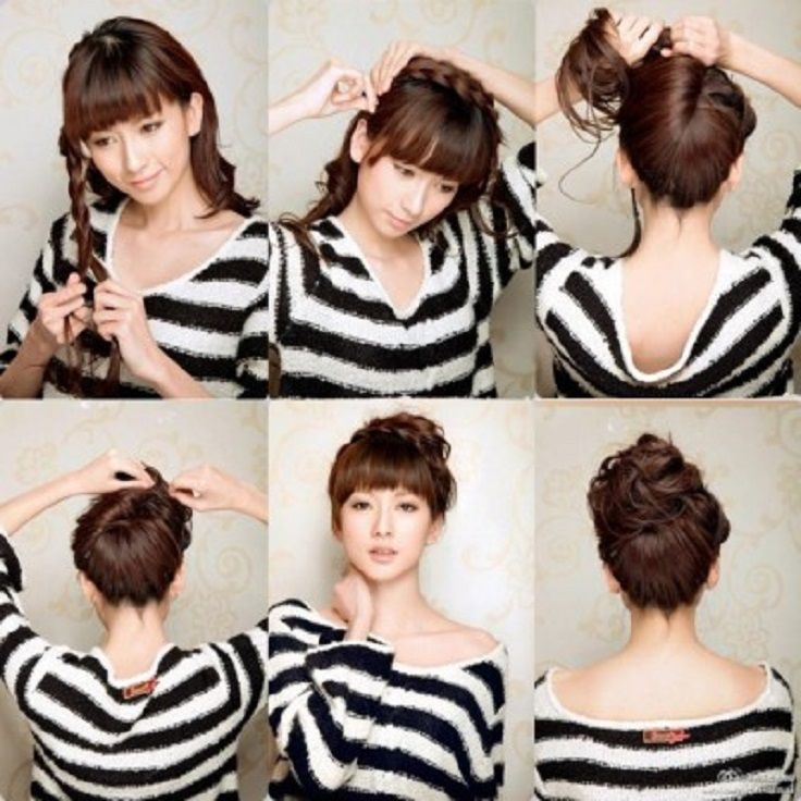 Admirable 1000 Images About Wet Hair Styles On Pinterest Hair Romance Short Hairstyles Gunalazisus