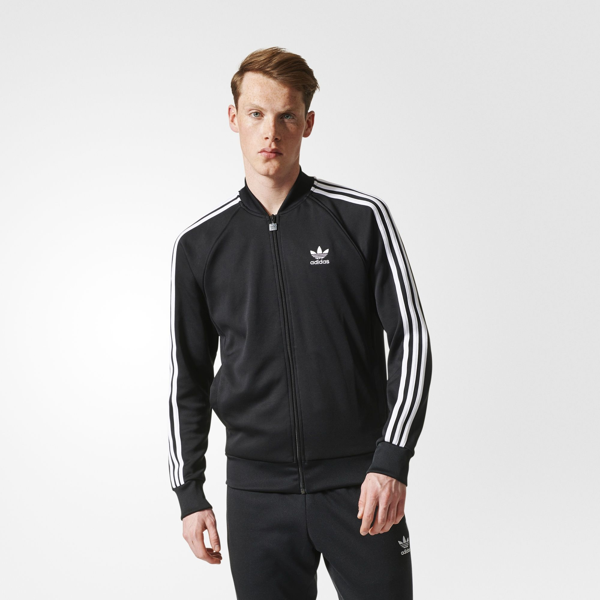 A street-style staple, this men's Superstar track jacket has all the  details of