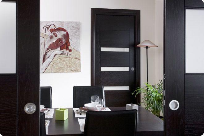 Portes du0027interieurs Proboporte gamme Complice modèle VIGAN en chêne - Decoration Encadrement Porte Interieur