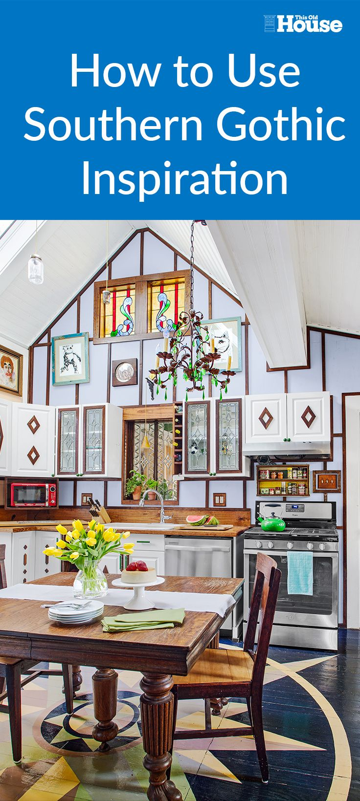 Southern Gothic: A Folk Victorian Remodel