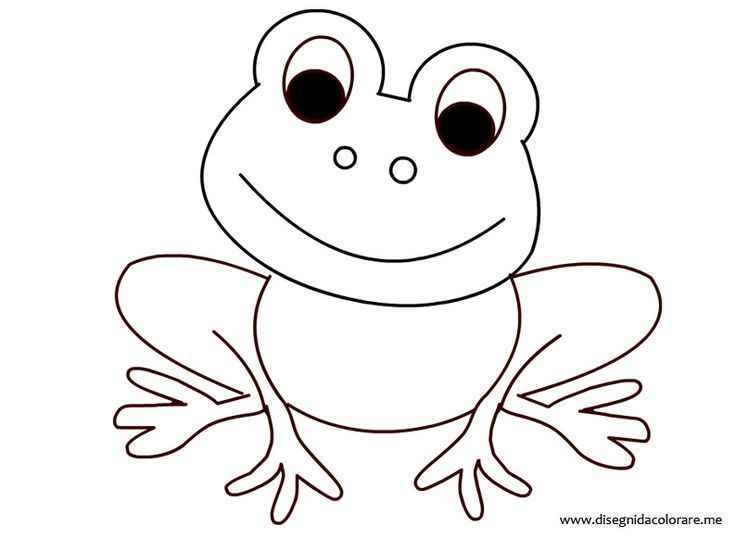 Pin By Ngọc Trần On Frogs Tattoo Design Ideas Frog Coloring Pages Coloring Pages Frog Crafts