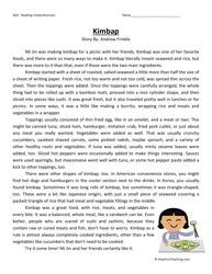 Sixth Grade Reading Comprehension Worksheet Kimbap Reading