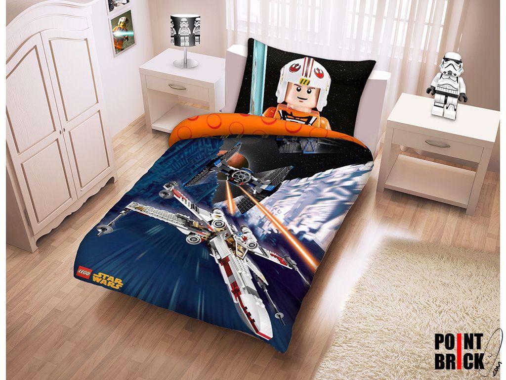 Lego Per La Casa 191 Copripiumino E Federa Per Letto Singolo 100 Cotone Lego Star Wars In 2020 Toddler Bed Home Decor Decor