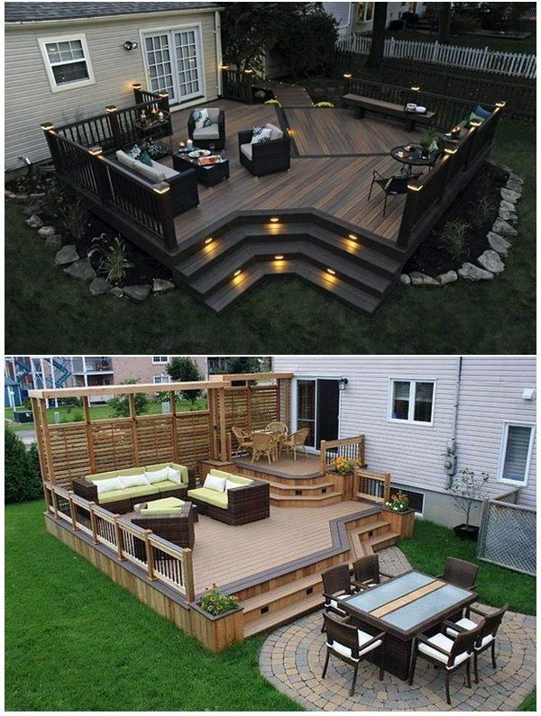 Stunning Low Budget Deck Lighting Ideas Lowes Just On Miral Iva Home Design Patio Deck Designs Deck Designs Backyard Backyard Patio Designs