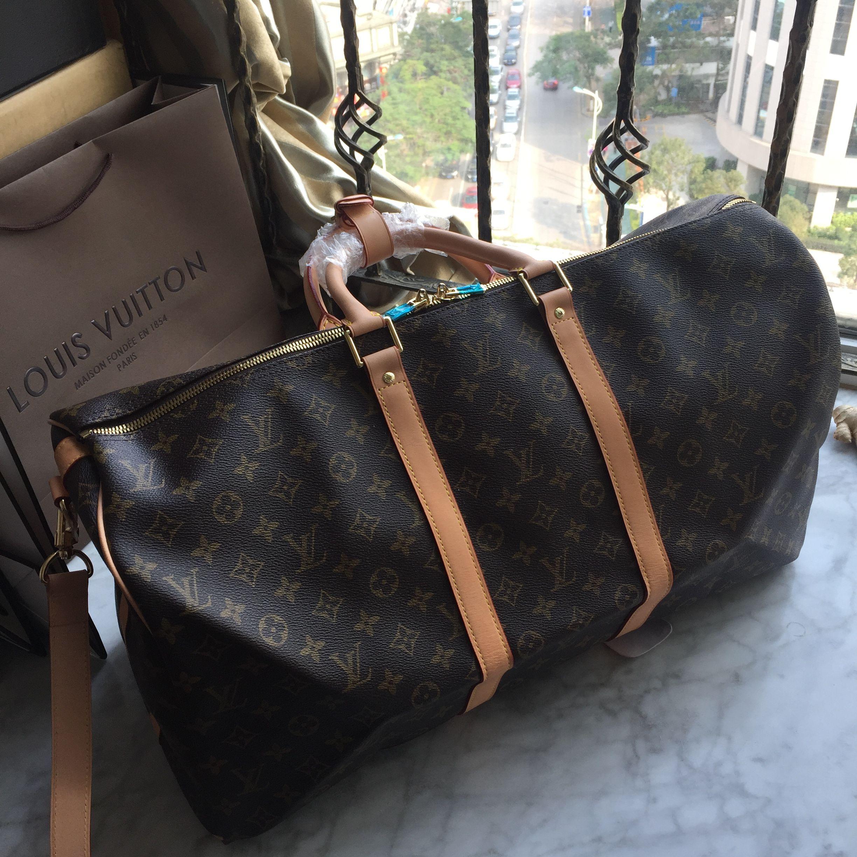 a2f2d85ff39a Louis Vuitton Lv keepall tranvel bag monogram 55cm