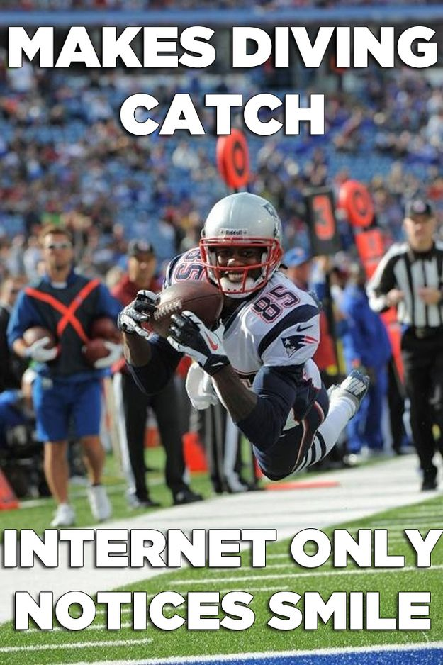The Ridiculously Photogenic Football Player Meme In 2020 Patriots Football Football Patriots