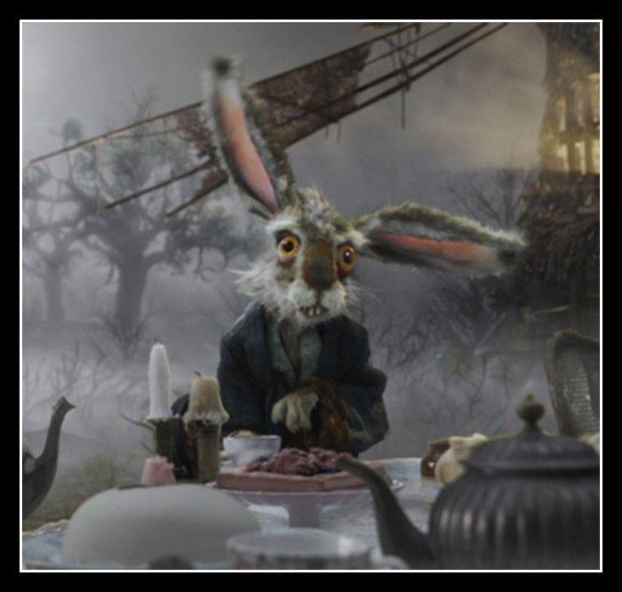 March Hare Quotes: Tim Burton March Hare Costume Alice In Wonderland