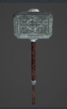 Norse Hammer - A hammer stored in the Warehouse. Based on Mjölnir, the hammer of Thor. The hammer increases muscular power to god-like proportions and induces delusions of righteousness in the user.