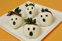 The Spookiest Halloween Candy Recipes: Ghost Strawberries