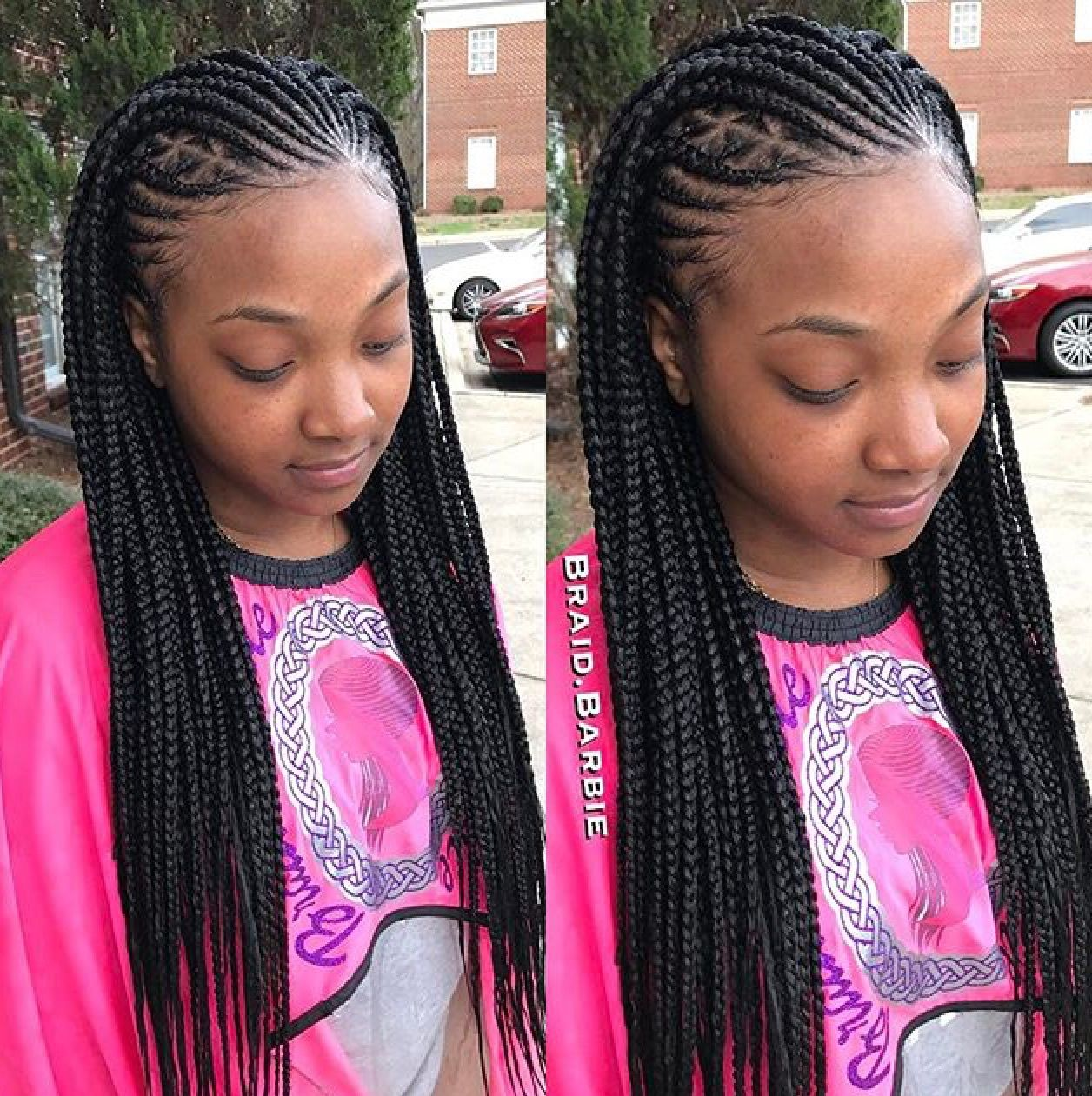13 Ways To Style Crotchet Twists Without Band Or Pins Braided