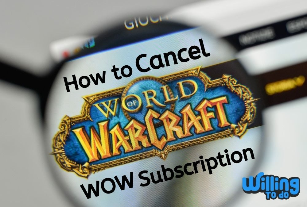 How To Cancel Wow Subscription Subscription Cancelled Mmorpg