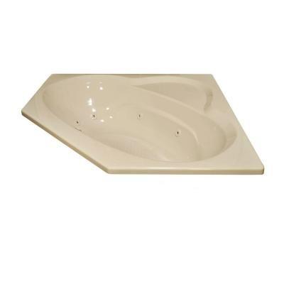 Lyons Industries Classic 5 Ft Whirlpool Bathtub In Almond