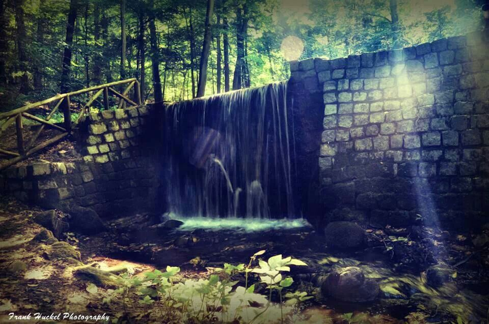 Wasserfall coethen