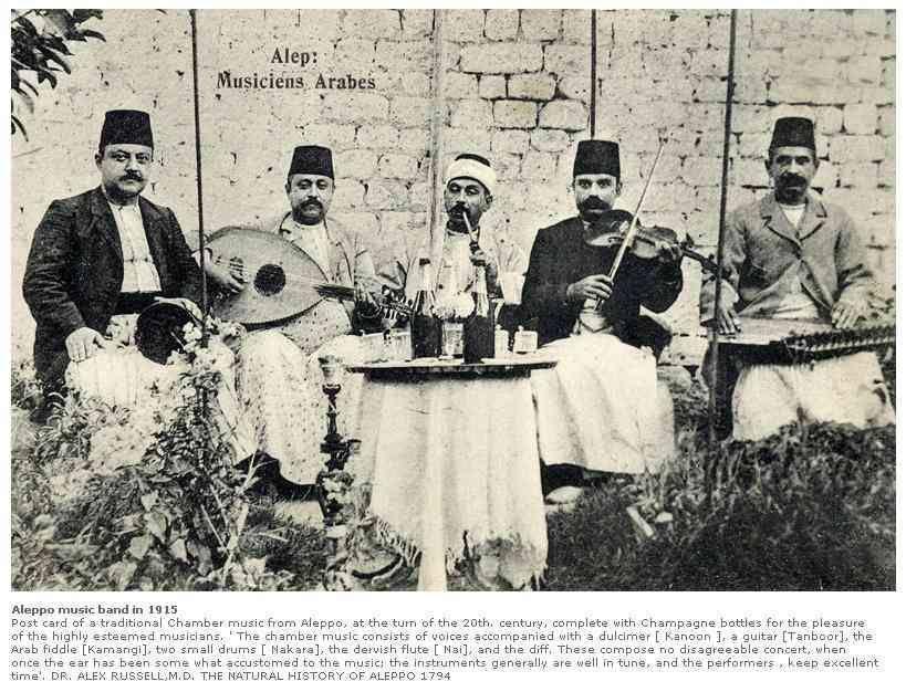 Musicians , 1915, Aleppo