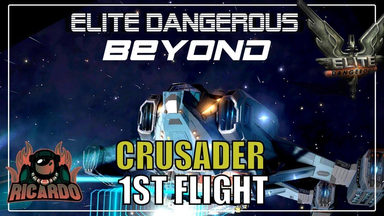 Elite: Dangerous The Alliance Crusader 1st Flight | Elite