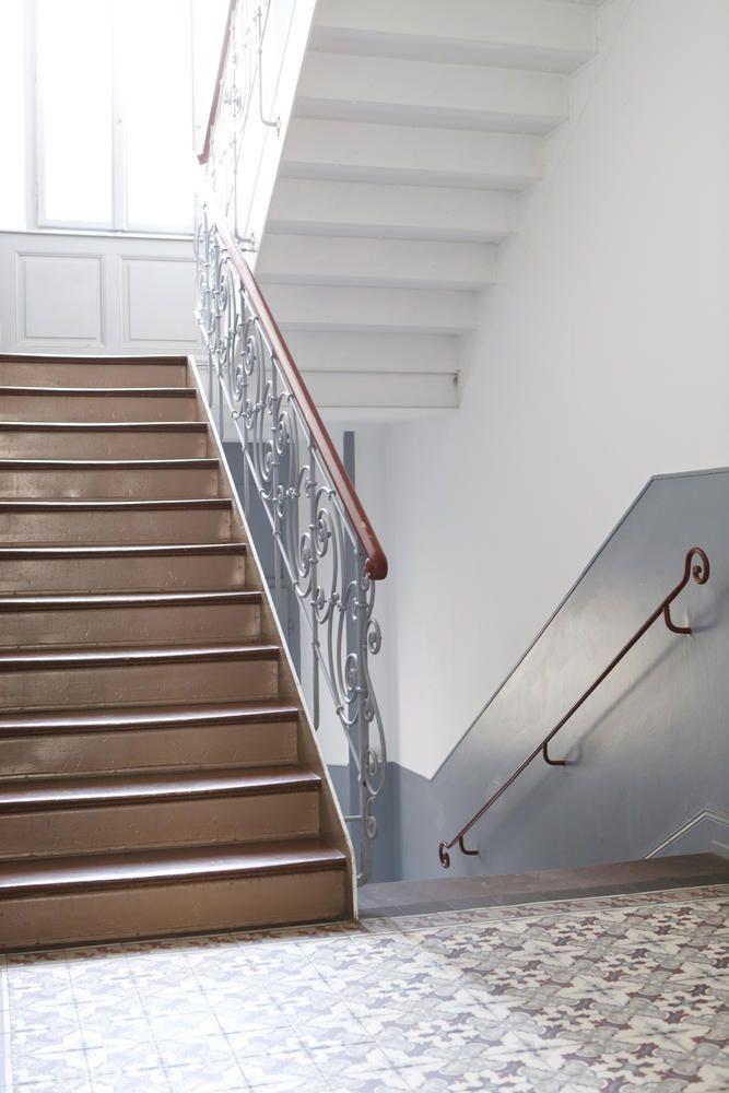 Farbgestaltung treppenhaus mehrfamilienhaus  Pin von G Abi auf Flur & Treppe | Pinterest | Flure und Treppe