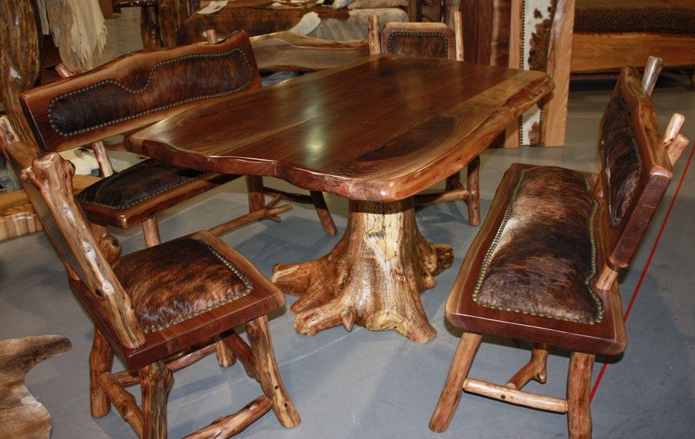 rustic handmade wood furniture wood table furniture wood rh pinterest co uk handmade wood dining tables handmade solid wood dining tables